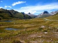 Laghetti alpini in direzione del Maighelspass - panorama
