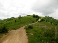 In direzione del Monte Bagnolo