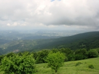Monte Bagnolo - panorama sulla vallata