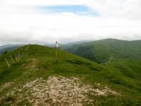 Panorama dall'Ebro verso il Monte Cosfrone