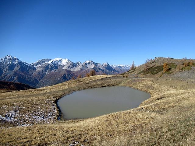 In direzione del Colle Basset - Panorama