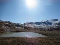 In direzione del Colle Basset - Panorama sul Monte Fraiteve