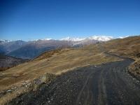 Panorama sulla Val di Susa dal Colle Basset