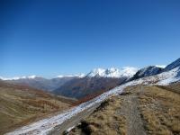 Panorama sulla Val Chisone dal colletto sopra il Colle Basset