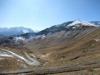 Panorama sul Fraiteve dal colletto sopra il Colle Basset