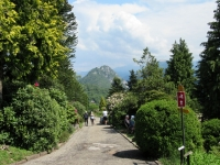 Parco san Grato - San Salvatore sullo sfondo