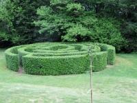 Parco san Grato - il caratteristico labirinto di siepe