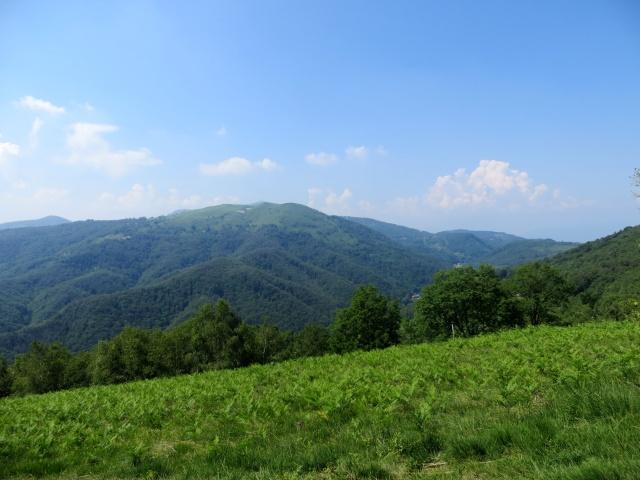 Panorama sul Mottarone dal Monte Cornaggia
