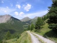 Discesa dall'Alpe di Vignon