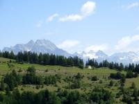 Salita all'Alpe Metz de Bionaz - panorama