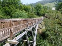 """Il ponte di """"frontiera"""" per Erbonne"""