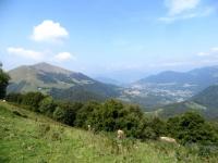 Panorama sulla Val d'Intelvi dal Rifugio Prabello