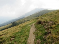 Sentiero del Val Colla Bike che collega San Lucio con l'Alpe Pietrarossa