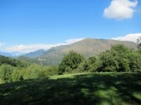 Il Monte Bar scendendo dall'Alpe di Santa Maria