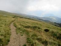 Il sentiero che collega San Bernardo con San Lucio attraverso la val Cavargna sotto il Monte Cucco