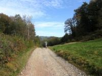 Sterrato verso Alpe Bondale