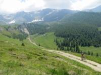 Salita per il Colle di Fontana Fredda dopo l'Alpe Foresus