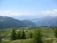 Ultimo alpeggio prima del Colle di Fontana Fredda