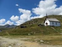 Chiesetta nei pressi dell'Aletschbord di Belalp