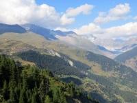 Sentiero per Nessel, panorama su Belalp e Aletsch