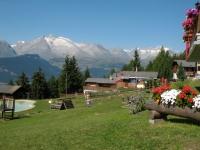 Rosswald - panorama sull'altopiano dell'Aletsch