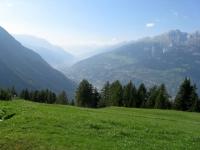 Rosswald - panorama sulla vallata