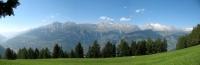 Rosswald - panoramica sull'altopiano dell'Aletsch