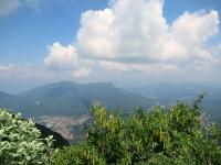 Panorama dal Forte di Orino - Valcuvia (Monte della Colonna, Monte san Martino, Monte la Nave, Monte Sette Termini)