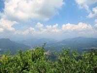 Panorama dal Forte di Orino - Valcuvia (Monte la Nave, Monte Sette Termini, Monte San Martino)