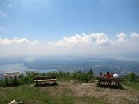 Panorama dal Forte di Orino - Lago di Varese, Lago di Comabbio, Lago di Monate, Lago Maggiore