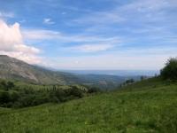 Panorama sul Canavese e sulla Serra d'Ivrea salendo al Monte Calvo