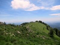 La punta sud del Monte Calvo