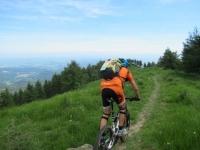 Percorrendo la dorsale del Monte Calvo