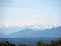 La cima del Monviso da Castellamonte