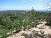 Primi ambienti caratteristici della Riserva dei Monti Pelati