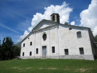 La Chiesa che si incontra salendo da Caretto Superiore verso il Monte Calvo