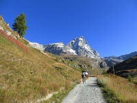 Salita al Rifugio Oriondè Duca Degli Abruzzi