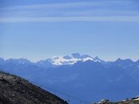 Il Grand Paradiso visto da poco sopra il Colle Superiore delle Cime Bianche