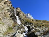 Salita al Rifugio Oriondè Duca Degli Abruzzi - panorama