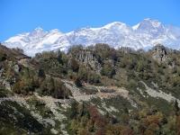 Il Monte Rosa e la Sella di Ovago