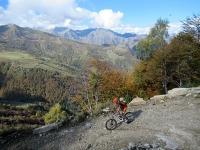 Sella di Ovago - Panorama sull'Alpe Meggiana
