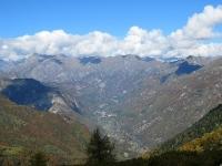 Panorama sulla Valsesia dalla Sella di Ovago