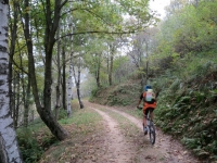 La forestale che parte dall'Alpe Segletta