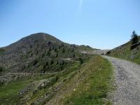 Ultimi metri prima del Col de Granon