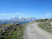 Col de Granon - Grandiosa vista sul Massiccio degli Ecrins