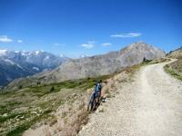 Col de Granon - In direzione della Point Cote