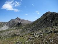 Col de L'Oule - Panorama sulla Rocher du Loup