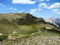 Grand Lac de l'Oule - Panorama sul Pic du Longet