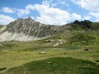 Lac la Barre, sullo sfondo la Roche de Gauthier