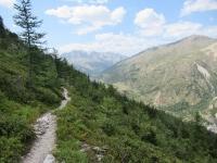 Discesa in Val de la Clarée - Tratto mediamente impegnativo